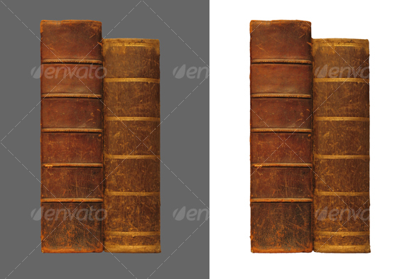GraphicRiver Two antique books 43289