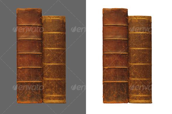 GraphicRiver Two antique books 43289