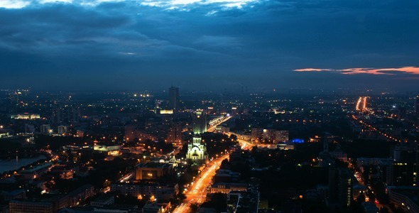 VideoHive City Evening 1 12254715