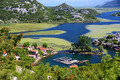 Karuc village on Lake Skadar, Montenegro
