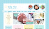 Download website template Cute & Sweet - 3 Color - HTML & PHP Shopping Cart
