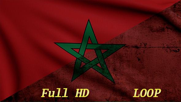 VideoHive Marocco Flags 12256658