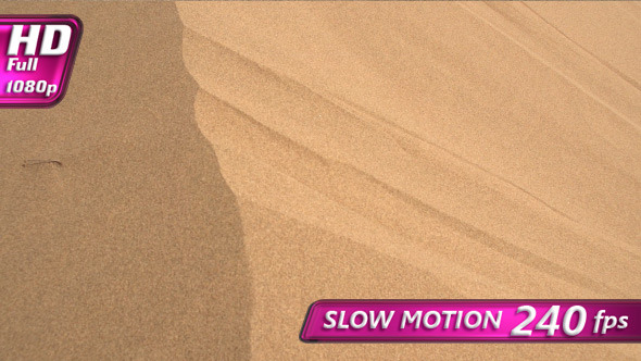 VideoHive Stream Flows from the Sand Dune 12257567