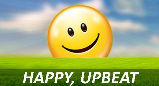 Happy, Upbeat