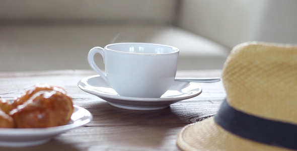 VideoHive Hot Cup of Coffee 12260899