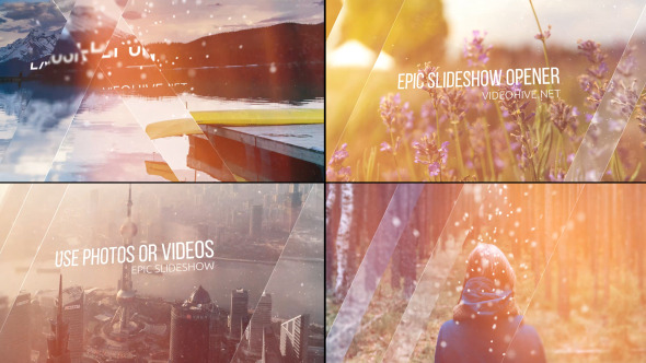 VideoHive Epic Slideshow Opener 12262207