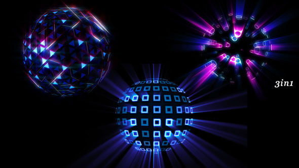 VideoHive Bright Disco Ball 01 12264190
