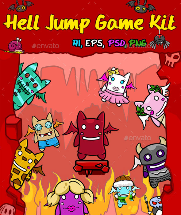 Hell Jump Game Kit (Game Kits)