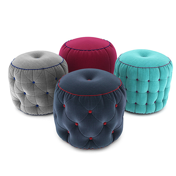 3DOcean Pouf collection 05 12264609