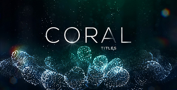 VideoHive Coral Titles 12264776