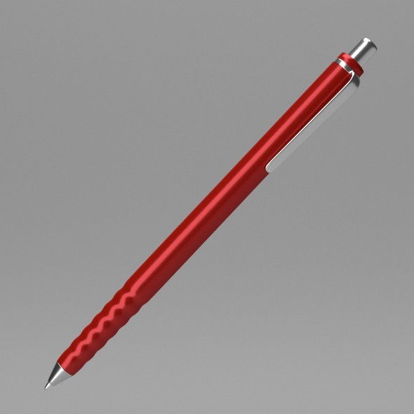 3DOcean Red Pen 12267785
