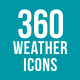 360 Weather Icons