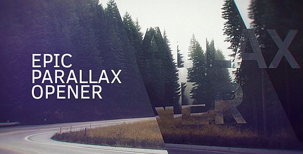 VideoHive Epic Parallax Opener 12268889