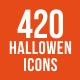 420 Halloween Icons