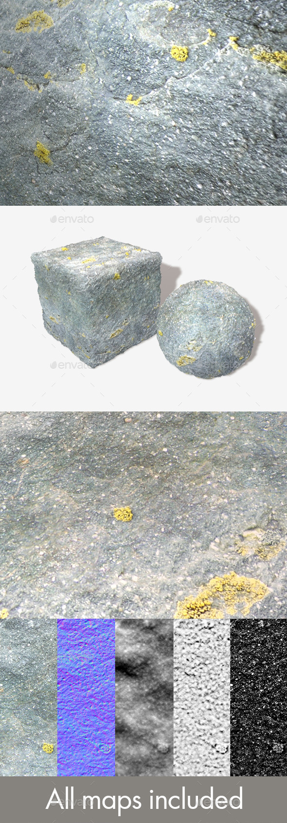 Speckled Rock Seamless Texture