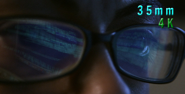 VideoHive Computer Code In Programmer Eyeglasses 02 12276674