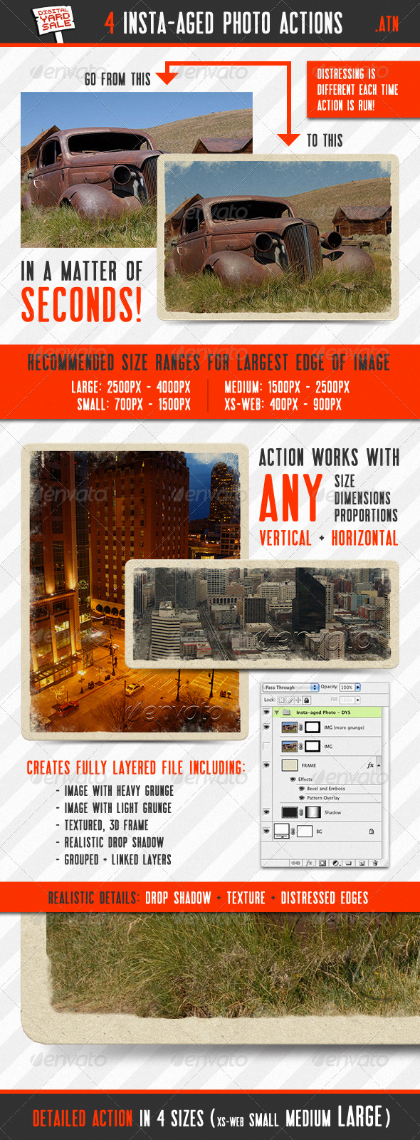 GraphicRiver 4 Insta-aged Photo Actions 149423