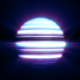 :: 3 colors Striped glowing Light Ball - VideoHive Item for Sale