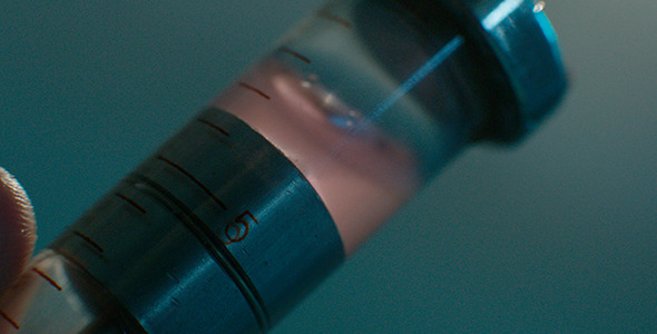 VideoHive Blood Syringe Injection 12278970