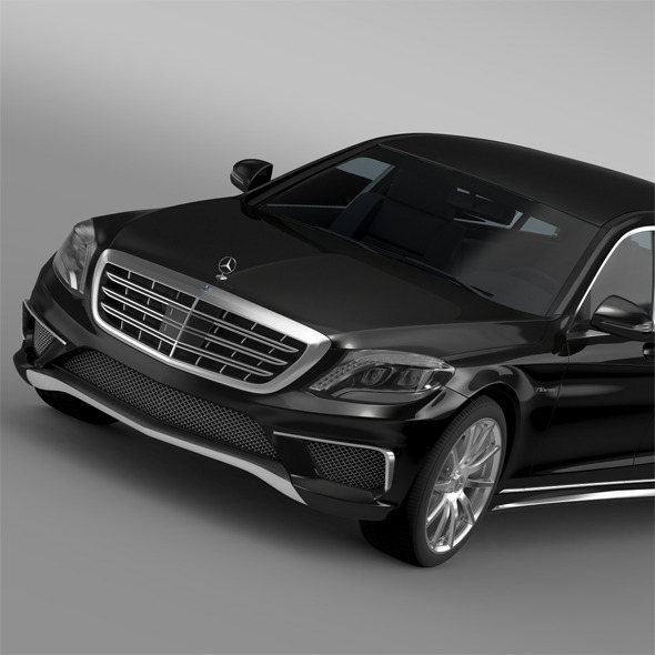 AMG Mercedes Maybach Pullman VV222 2015 - 3DOcean Item for Sale