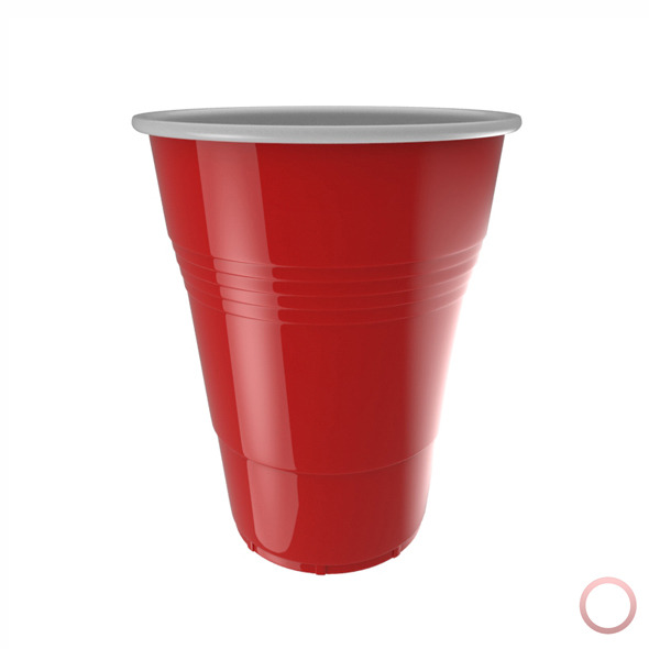 Red Plastic Cup - 3DOcean Item for Sale