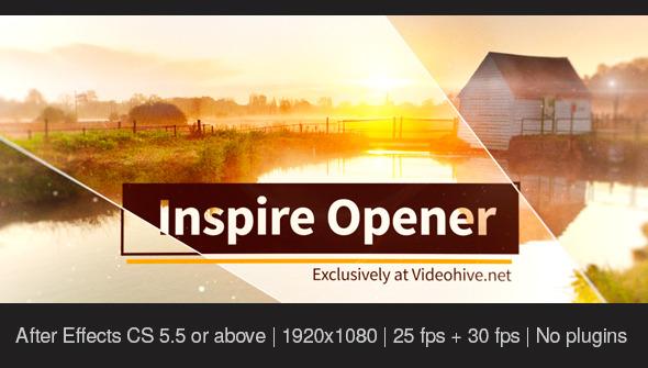 VideoHive Inspire Opener 12280385