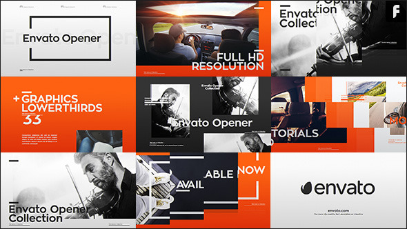 VideoHive Modern Opener & 33 Lower Thirds 12281007