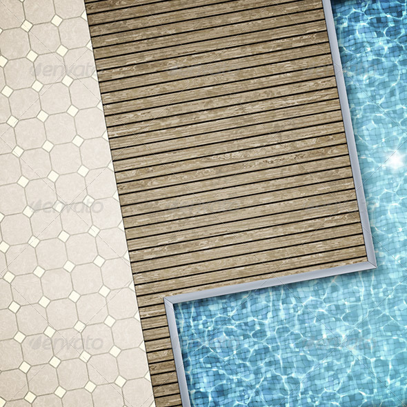GraphicRiver Pool Background 1229284