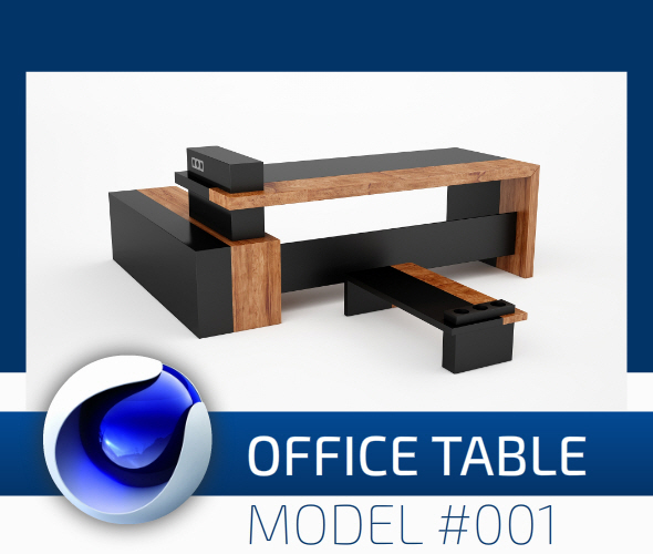 Office Collection Model 001 - 3DOcean Item for Sale