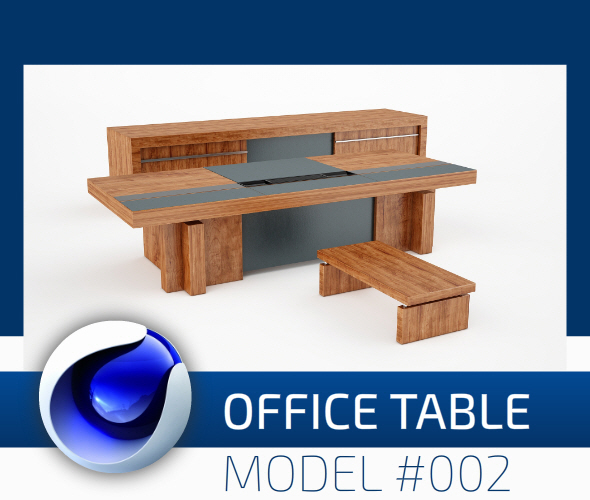 Office Collection Model 002 - 3DOcean Item for Sale
