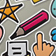 Marcker Icons - GraphicRiver Item for Sale