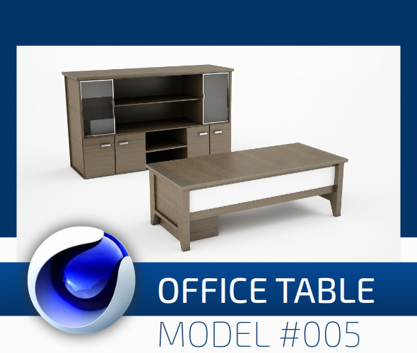 3DOcean Office Collection Model 005 12285686
