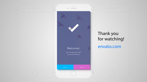 VideoHive Perspective Mobile App Promo 12285864