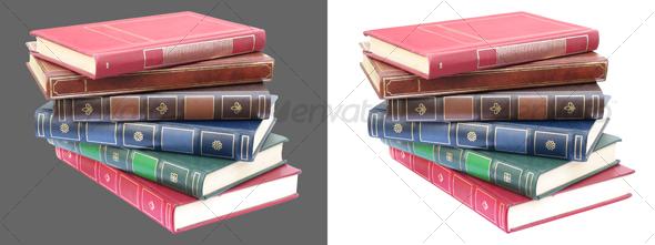GraphicRiver Book Pile #2 49578