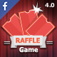 RAFFLE game - Promotional Facebook application