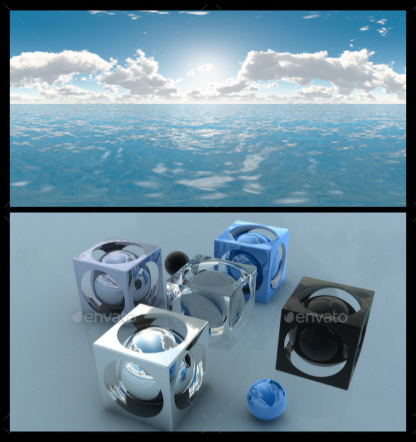 3DOcean Ocean Bright Day 3 HDRI 12292592