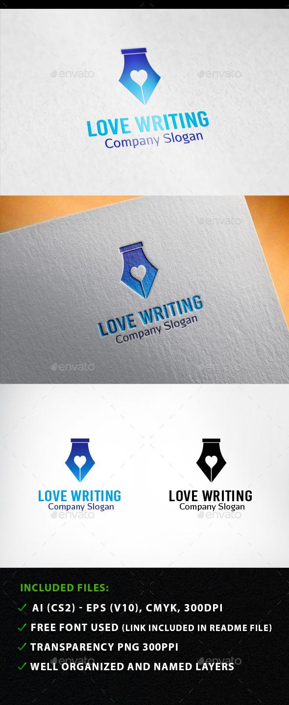 Love  Writing Logo