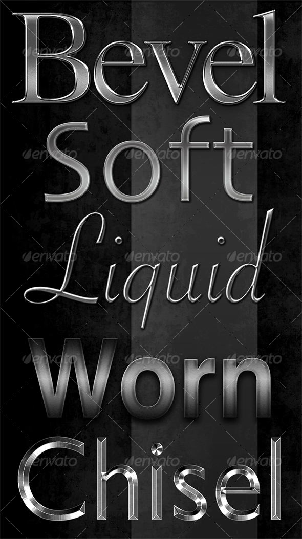 GraphicRiver Classic Metal Text Effects 49597