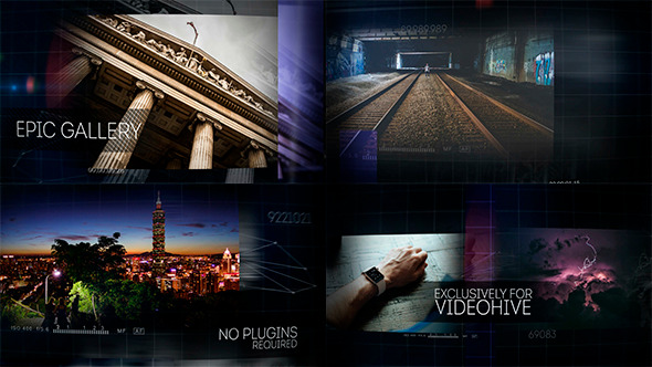 VideoHive Epic Photo Video Gallery 12218276