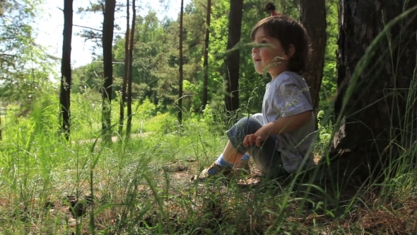 VideoHive Boy In The Grass 12294277