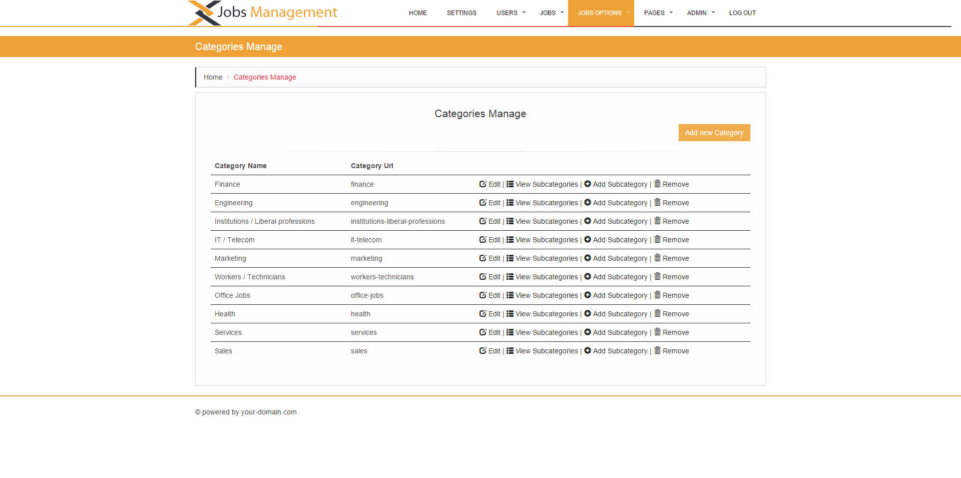 Jobs Management by -uMarian- | CodeCanyon