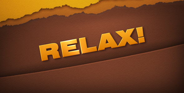After Effects Project - VideoHive Relax 149567
