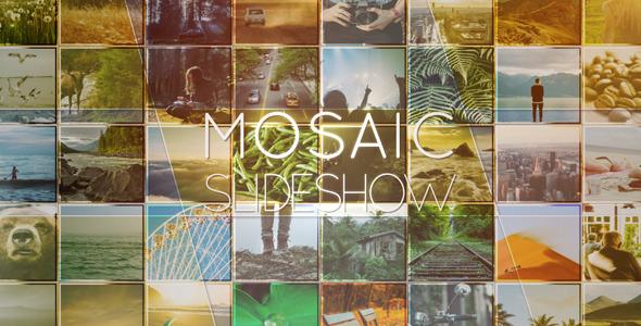 VideoHive Mosaic Slideshow 12295789