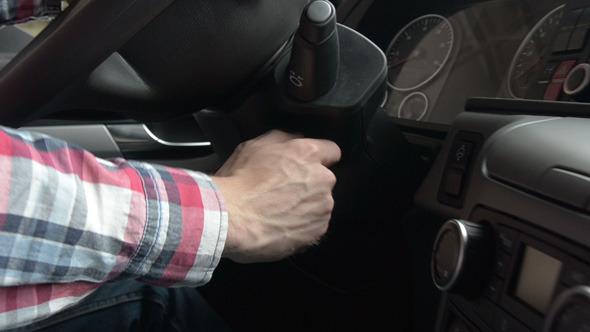 VideoHive Starting a Car 12296531
