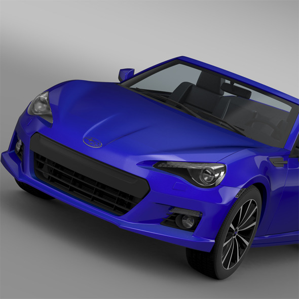 Subaru BRZ ZC6 Cabrio 2015 - 3DOcean Item for Sale