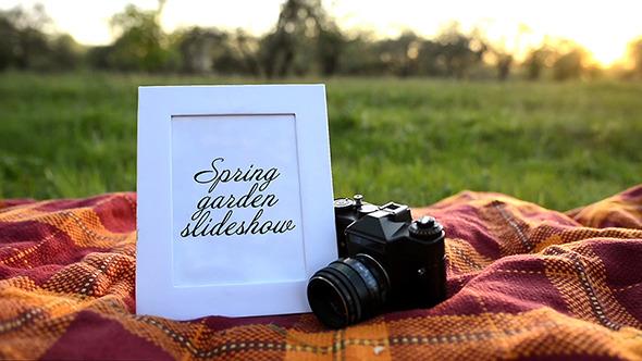 VideoHive Spring garden slideshow 12296776