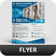 A4 Corporate Flyer Template Vol 56