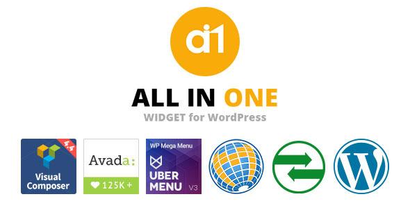 All In One Widget for WordPress