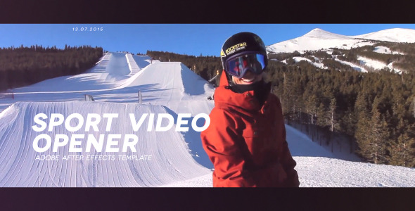 VideoHive Sport Opener 12300805