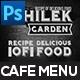 Chilek Garden Menu Pack 06